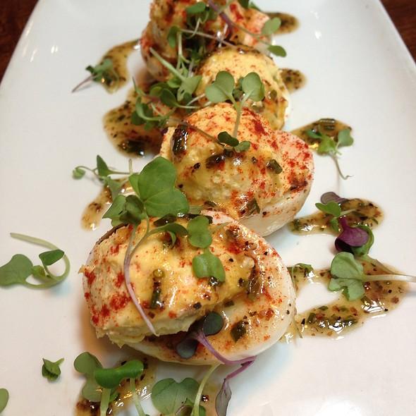 Deviled Eggs With Truffle-Chive Vinaigrette - Del Frisco's Grille - McKinney Ave - Uptown, Dallas, TX