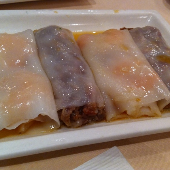 Shrimp & Bbq Pork Rice Rolls @ Forbidden City (Pacific Mall)