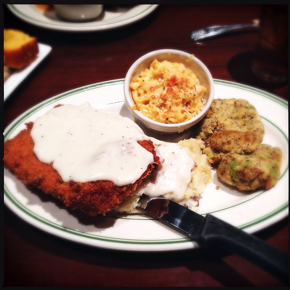 Chicken Fried Steak @ Buttermilk Cafe