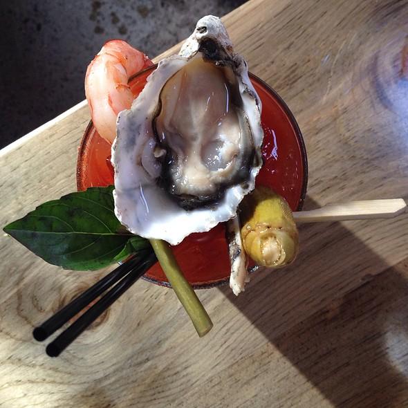 Baller Bloody Mary @ RockCreek Seafood & Spirits