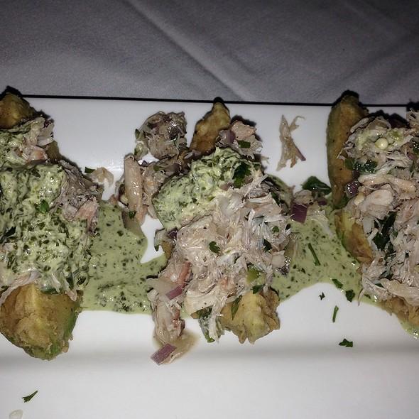 Blue Crab And Fried Avacado - ALC Steaks (Austin Land & Cattle), Austin, TX