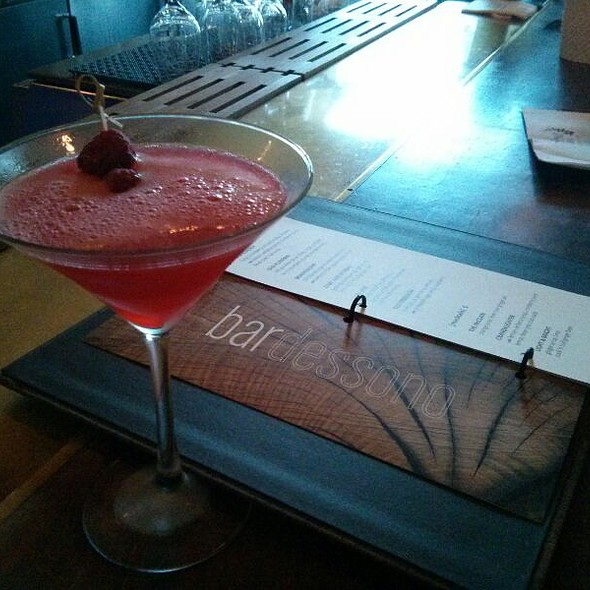 Red Obsession Cocktail