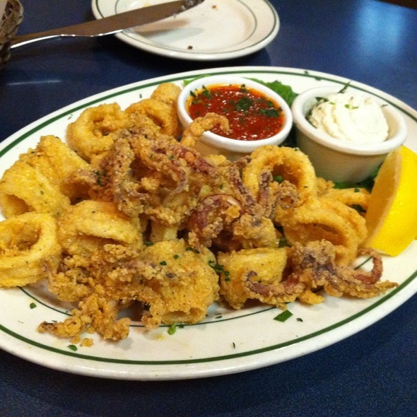 Fried Calimari @ Demitri's Taverna