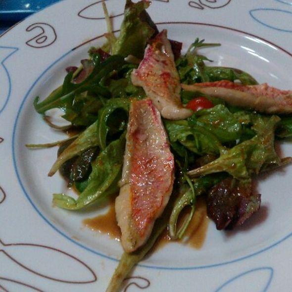 Salade De Rouget @ La Criée
