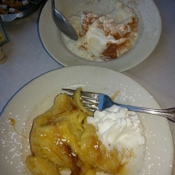 Rice Pudding And Bread Pubbing - Bella Sogno, Bradley Beach, NJ