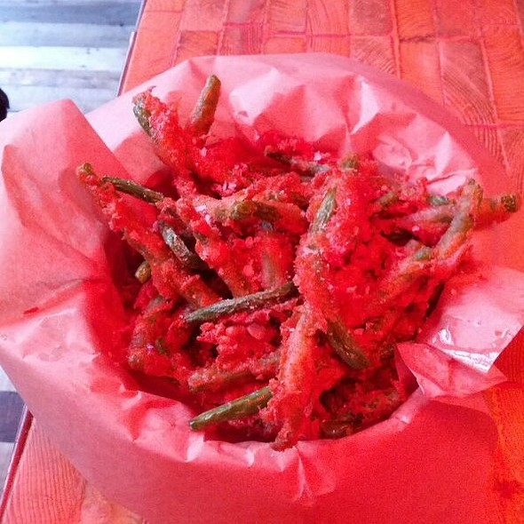 Green Bean Tempura @ K-bar