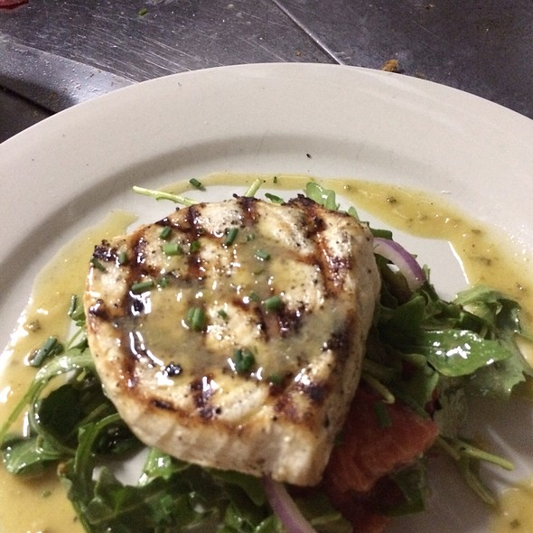 Grilled Swordfish - Michaels Restaurant, Key West, FL