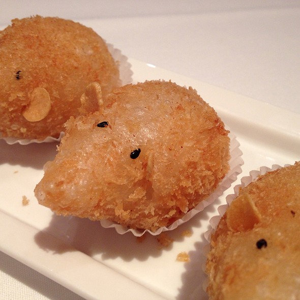 Fried Berkshire Pork Dumplings - Lai Wah Heen Restaurant, Toronto, ON