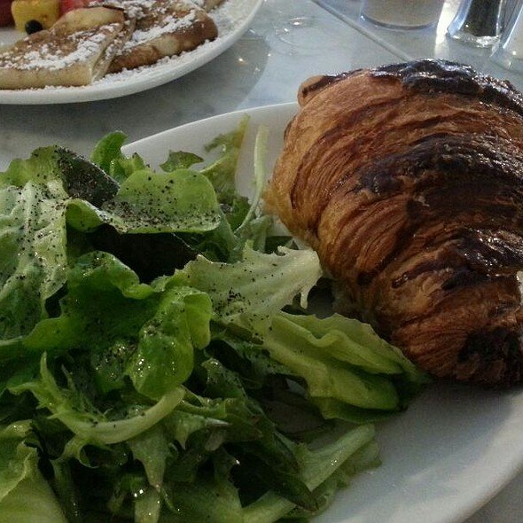 Croissant Monsieur @ Blue Door Cafe And Bakery
