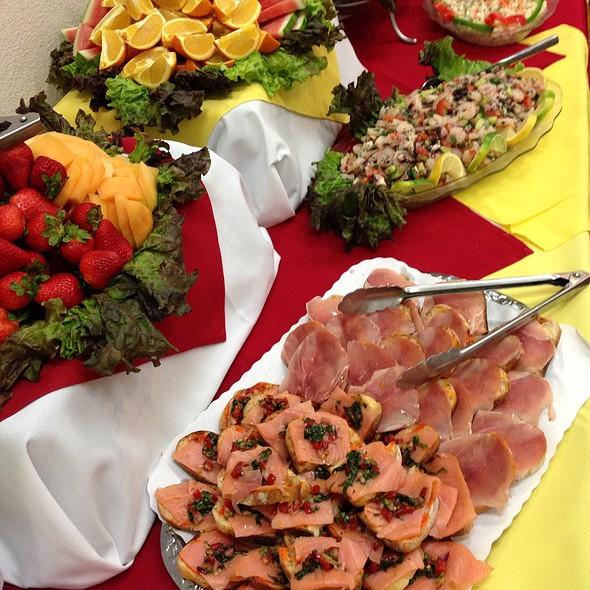 Appetizers At Patio Espanol Restaurant