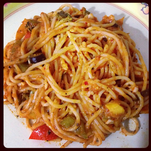 Pasta Arabiatta @ Over The Flames