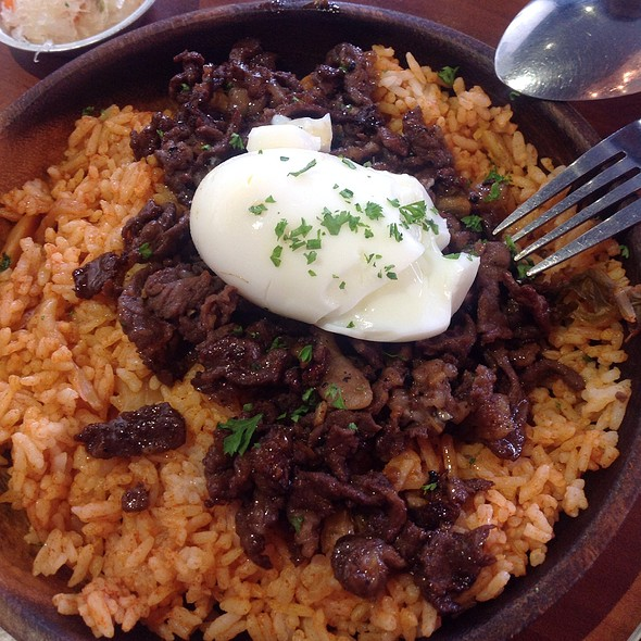 Beef Tapa, Egg And Kimchi Rice @ Pi Breakfast And Pies