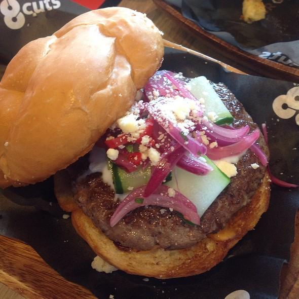 Lamb Burger @ 8 Cuts Burger Blends