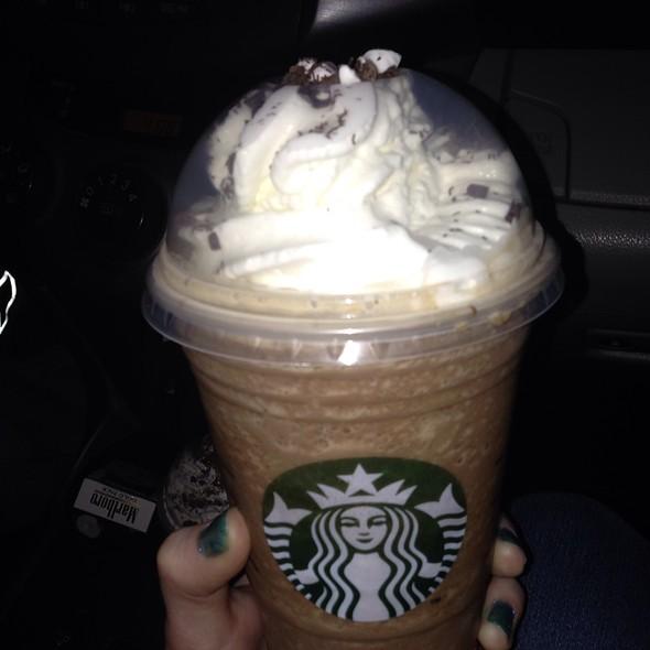 Peppermint Mocha Frappuccino @ Starbucks