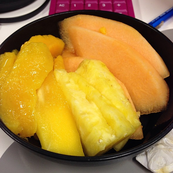 Mango, Pineapple And Melon @ Chookys