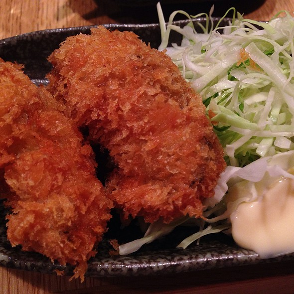 Kaki Furai - Fried Oyster @ 魚真 銀座店