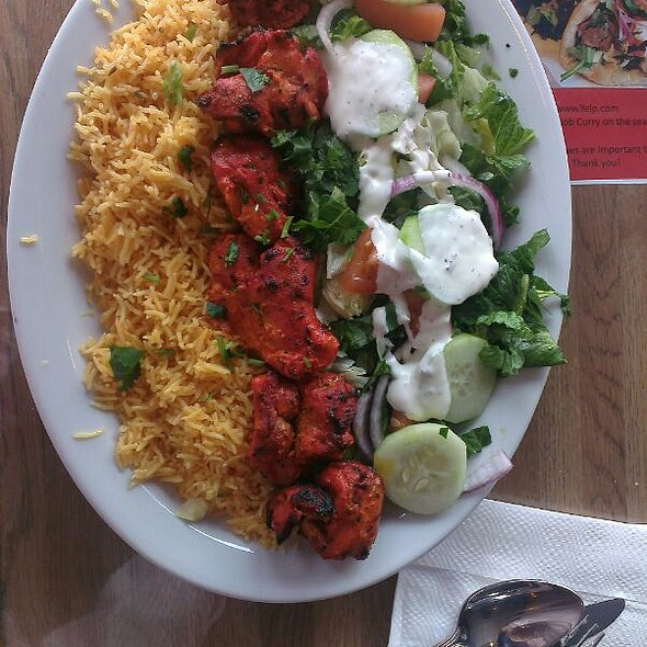 Chicken Tikka @ Kabob Curry