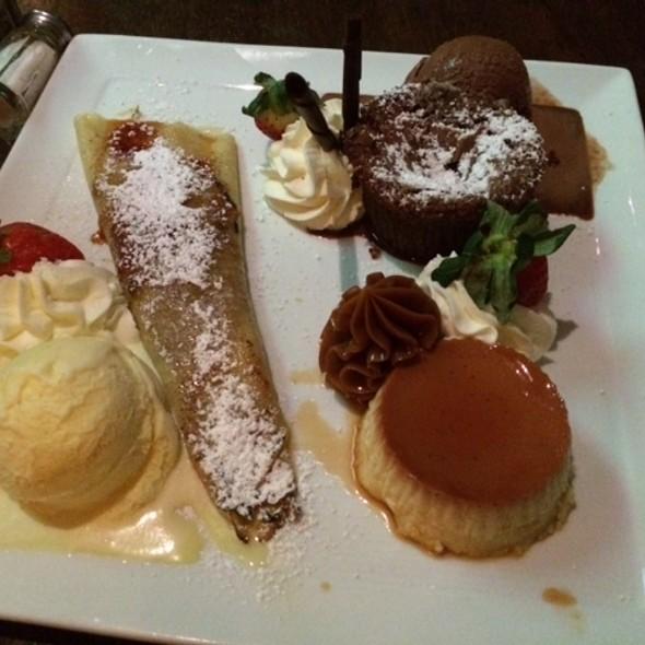 Dessert Platter - Novecento - Brickell, Miami, FL