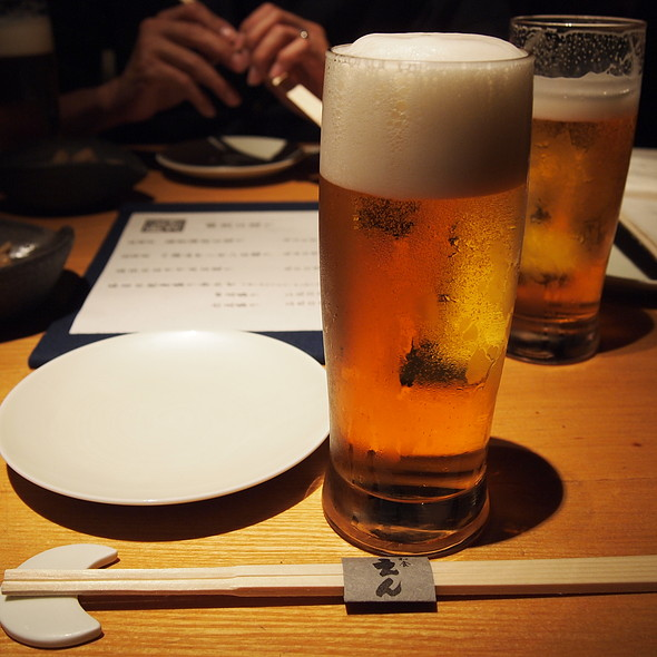 生ビール @ 和食えん丸の内店