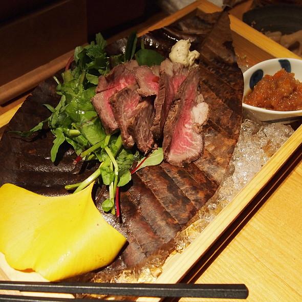 Wagyu Beef Skirt Steak @ 和食えん丸の内店