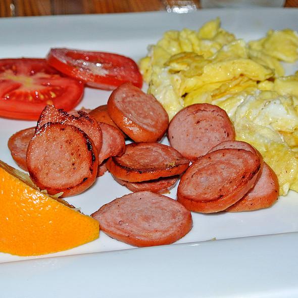 Swiss Knackwurst with Eggs - Squeeze Marfa, Marfa, TX