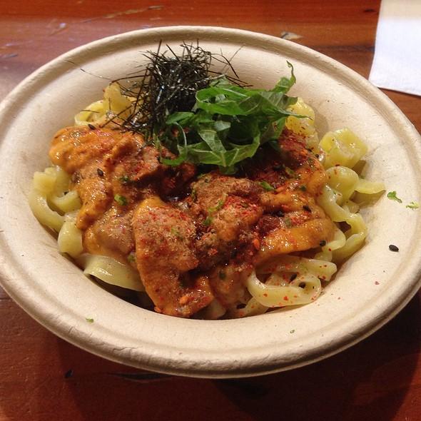 Uni Miso Mazemen @ Yuji Ramen Test Kitchen