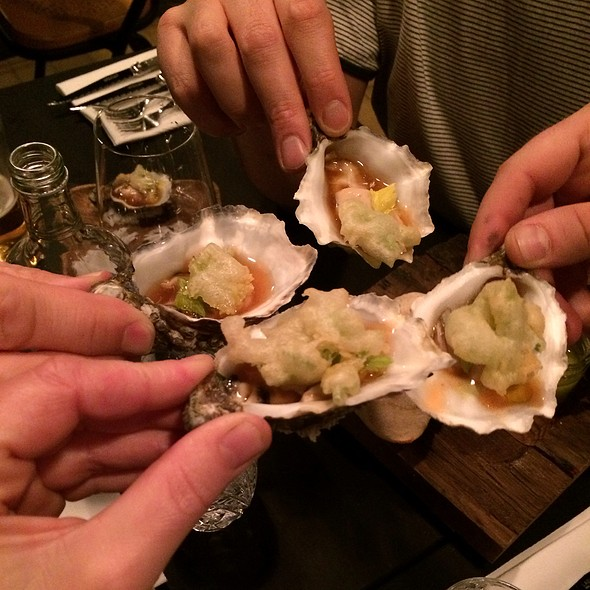 Bloody Mary Oysters @ Kul