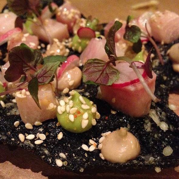 Hamachi Avocado Over Crispy Seaweed @ State Bird Provisions