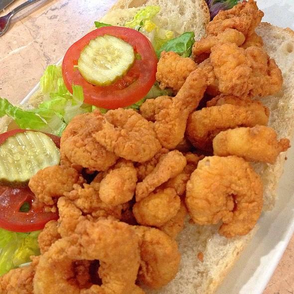 Fried Shrimp Po Boy – Succulent Fried Shrimp with a Homemade Rémoulade @ Deanie's Seafood