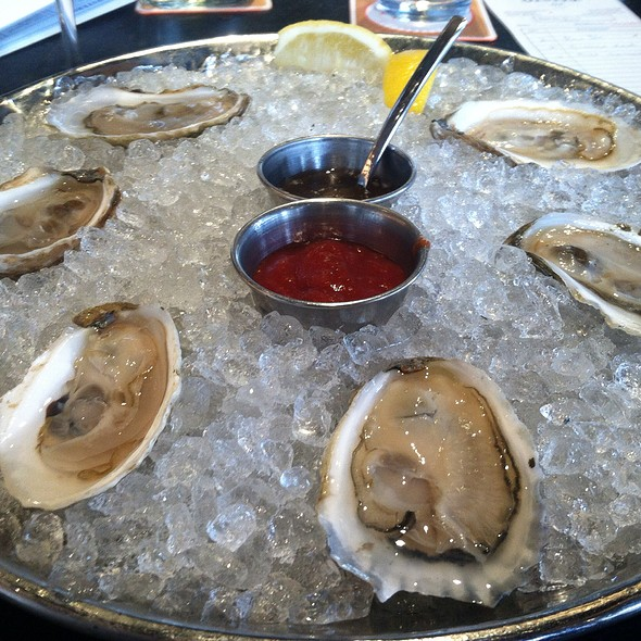 Oysters - Island Creek Oyster Bar, Boston, MA