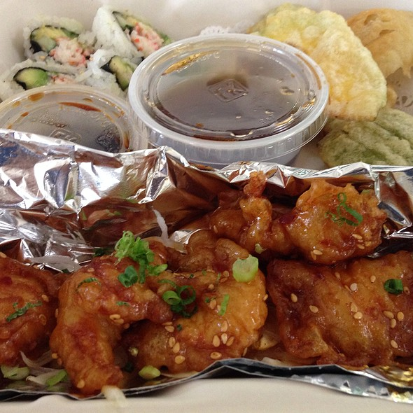 bento box - Japango Sushi Restaurant, Boulder, CO