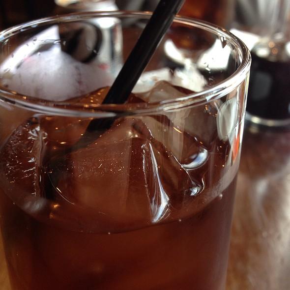 Ginger Peach Iced Tea - Kansaku, Evanston, IL