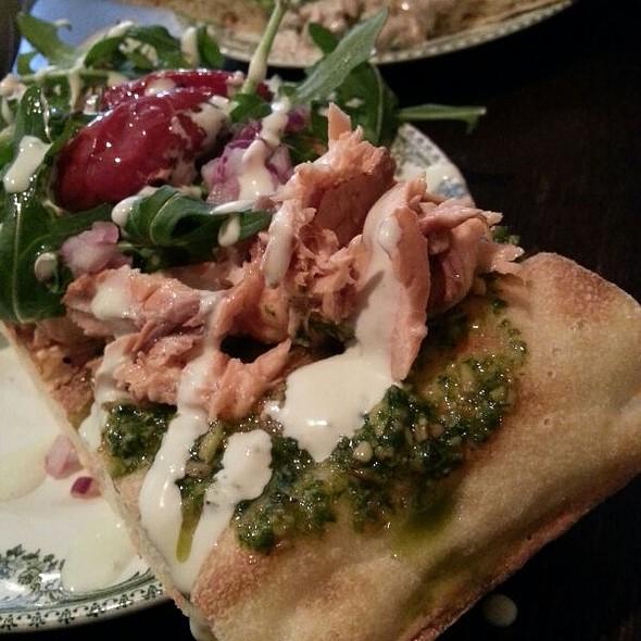 Salmon Sandwiches @ Billy's Eerlijke Keuken