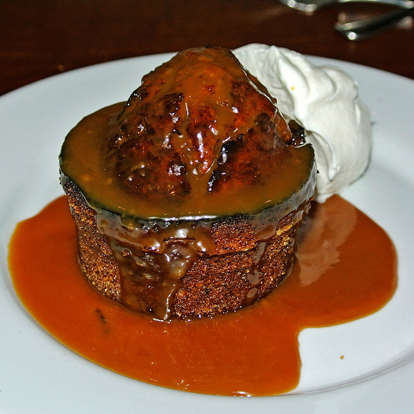 Toshi's Date Pudding @ Cochineal