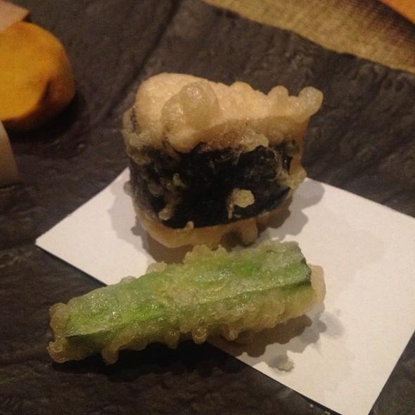 Camembert Cheese Tempura / カマンベールの天麩羅 @ Momoyama
