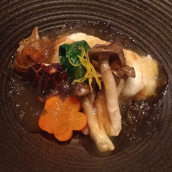 Steamed Black Rockfish With Shark's Fin Sauce @ Momoyama