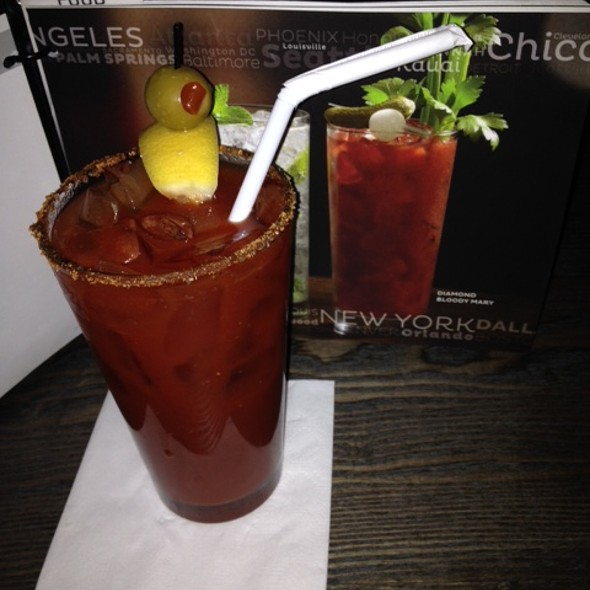 Bloody Mary - Zephyr on the Charles, Cambridge, MA