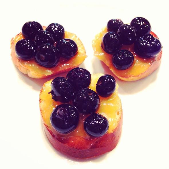 Tartine Aux Myrtilles Et Lemon Curd @ Le Cordon Bleu Tokyo's Leçon