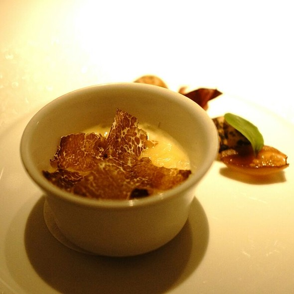 Baked Vacherin With White Truffle - Restaurant Gordon Ramsay, London