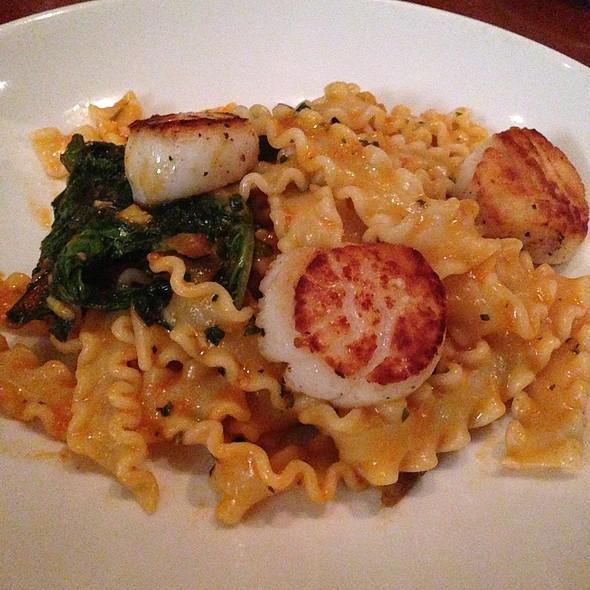 Mafalde Pasta With Scallops, Swiss Chard & Sea Urchin Butter @ Rose Pistola