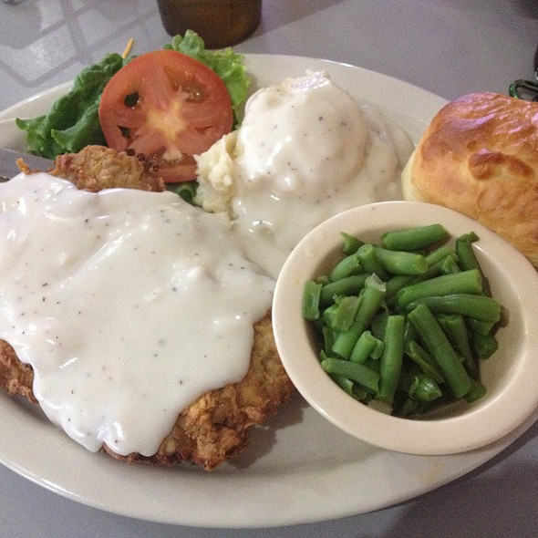 Chicken Fried Steak @ southern recipes cafe
