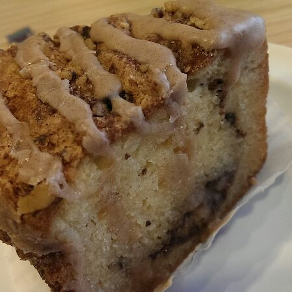 Cinnamon Walnut Breakfast Cake @ Layers Bakery Cafe