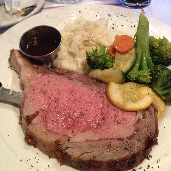 Prime Rib dinner - Willoughby Brewing Company, Willoughby, OH