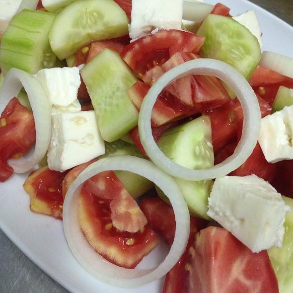 Greek salad! @ Aterina Balik Restaurant