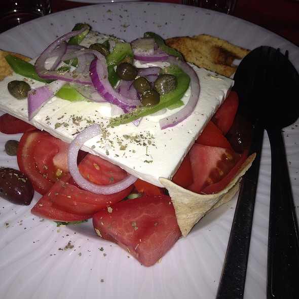 Greek Salad @ SALPARO Seafood Tavern