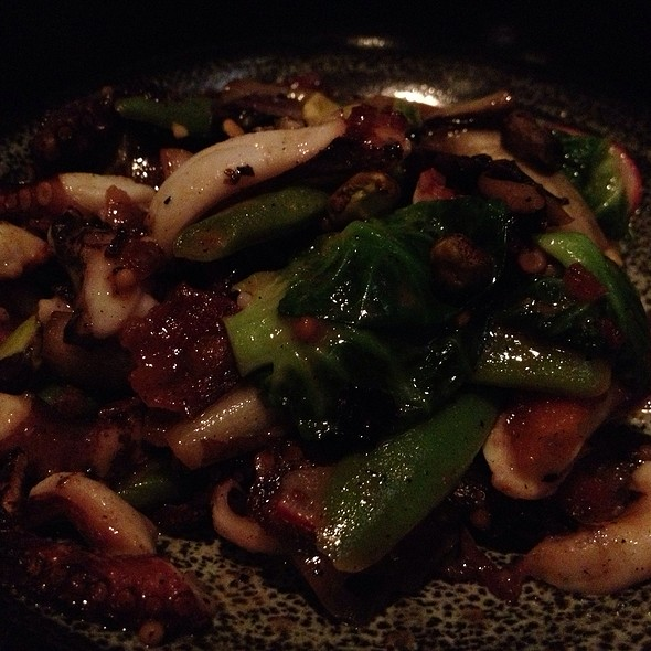 Grilled Baby Octopus @ The Girl And The Goat