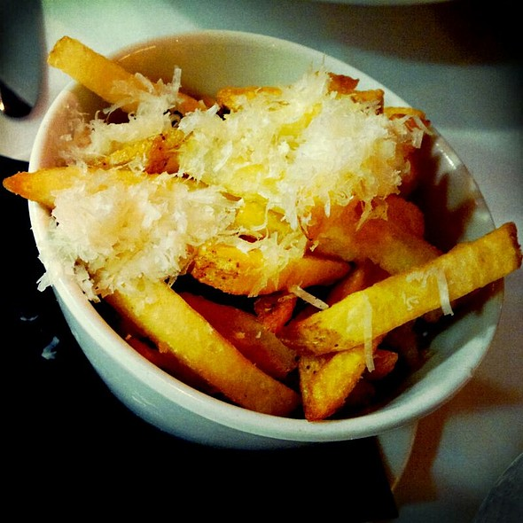 Pommes Frites with Truffle Oil and Parmesan