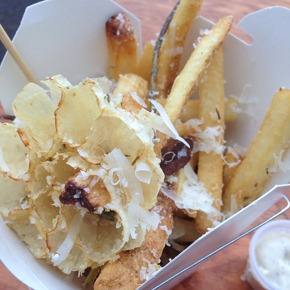 Rosemary, Garlic And Parmesan Fries