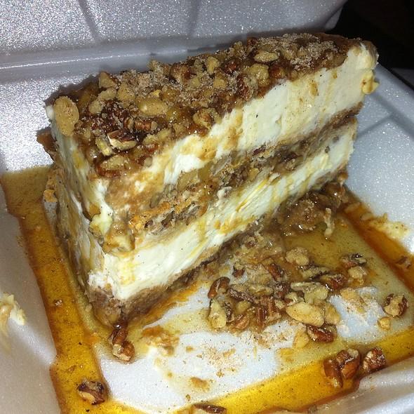 Baklava ice cream - Ziziki's - Travis Walk, Dallas, TX