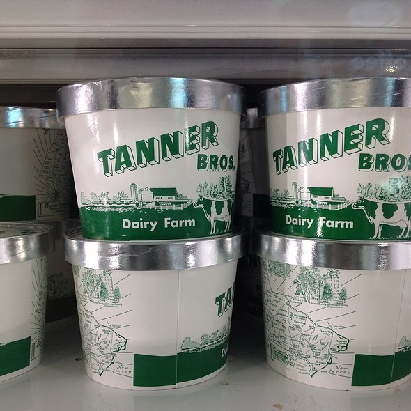 Assorted Ice Cream @ Tanner Brothers Dairy